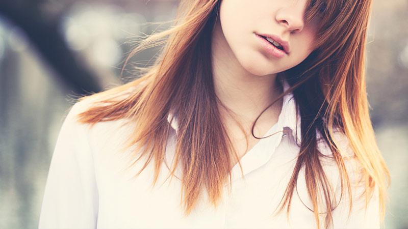 でこっぱちと、うねり前髪。私の髪コンプレックス